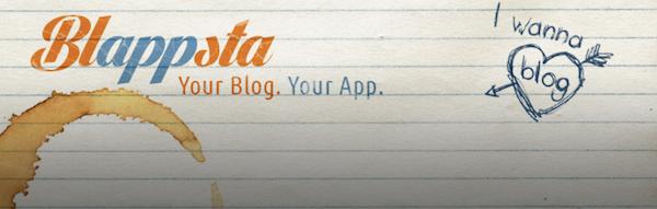 WordPress App erstellen mit Blappsta