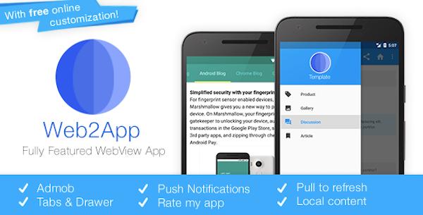 WordPress App erstellen mit Web2App